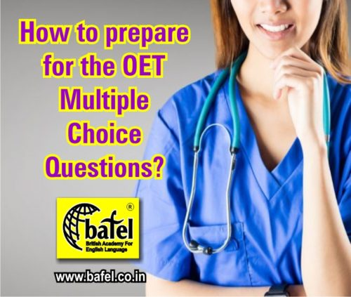 How to prepare for the OET Multiple Choice Questions