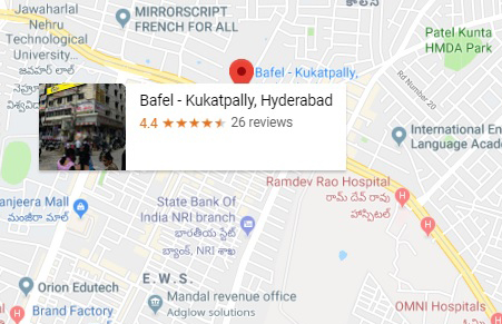 Bafel_ Kukatpally, Hyderabad