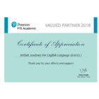 Certificate_PTE Academic Valued Partner (BAFEL)_2